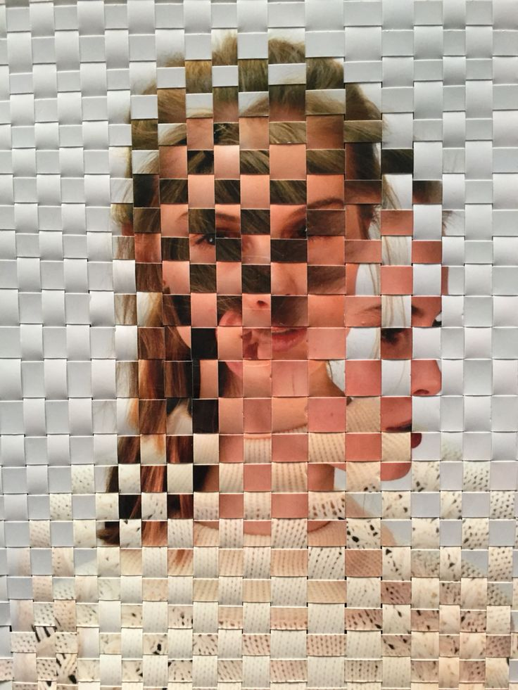 Woven photographs inspired by David Samuel Stern  Scholastic art ideas in 2019  Collage art