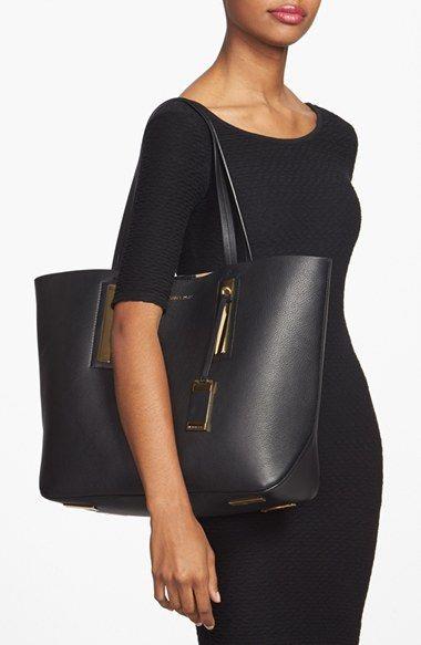 696e33545be3 Black Handbag: Michael Kors Large Jaryn Tote