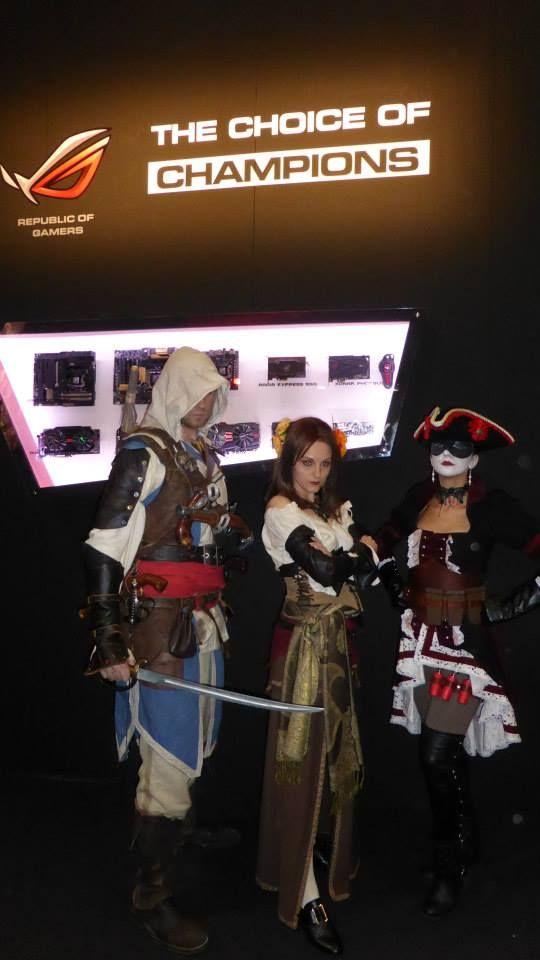 ASUS & #AssassinsCreed @ #Gamesweek, Milano 25-27 ottobre 2013