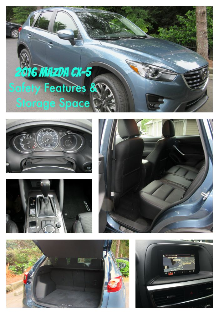 [VIDEO] 2016 Mazda CX-5 Safety Features and Storage Space ~ http://bit.ly/2016MAZDACX5