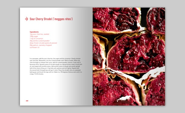 Hungarian Cookbook by Tamas Bereznay. Photo by Boook.