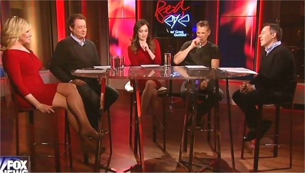 Jamie Colby showing off her sexy legs on Redeye | Fox News ...