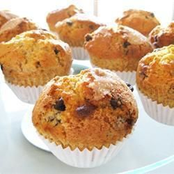 Easy Peasy Chocolate Chip Muffins @ allrecipes.co.uk