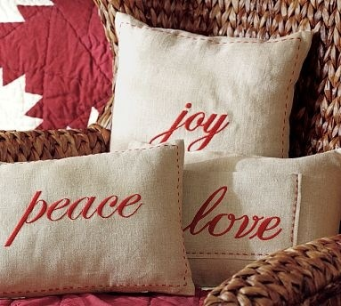 pb pillows knockoffs with freezer paper stencil tutorial & 408 best crafts--pillows images on Pinterest | Pillow talk ... pillowsntoast.com