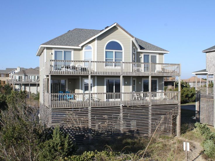 House vacation rental in Avon, NC, USA from VRBO.com! #vacation #rental #travel #vrbo