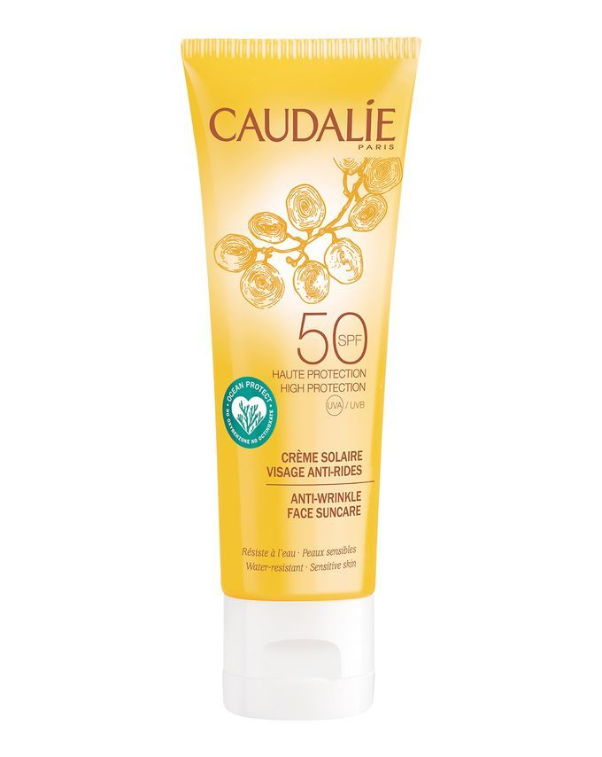 Caudalie Anti Wrinkle Face Suncare Spf50 Face Wrinkles Sun