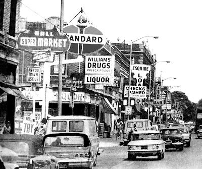 12th Street, Detroit. Michigan, one week before the 1967 Riot.