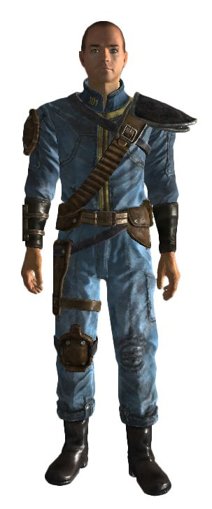 Armored Vault 101 jumpsuit - Fallout Wiki