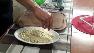 08 riso carciofi e scamorza fatto da Dario con magic cooker, coperchio magico, via YouTube.