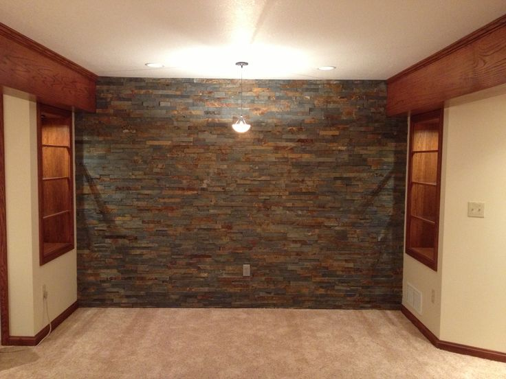 Basement stone shower eclectic bathroom minneapolis by - 28 Best Diy Stone Accent Images On Pinterest Stone