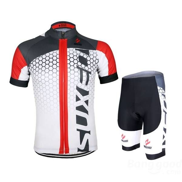 ARSUXEO Men Cycling Jersey Bike Bicycle Short Sleeves Jersey Mountain Bike Clothing Shirts Sale - Banggood.com