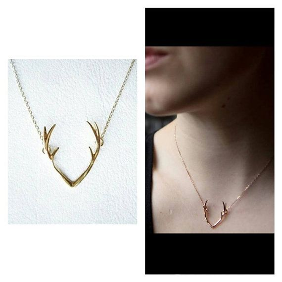 Hey, I found this really awesome Etsy listing at https://www.etsy.com/listing/224000551/antler-necklace-fashion-necklace-silver