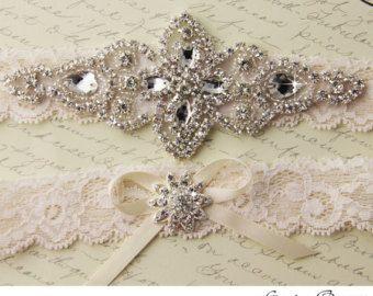 BEST SELLER Wedding Garter Bridal Garter Wedding by OneFancyDay