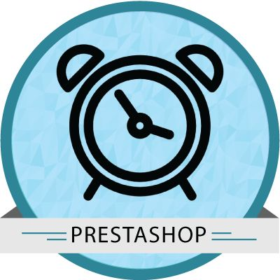 Prestashop Countdown timer module used to display discount countdown timer with days , hours , minutes and seconds.