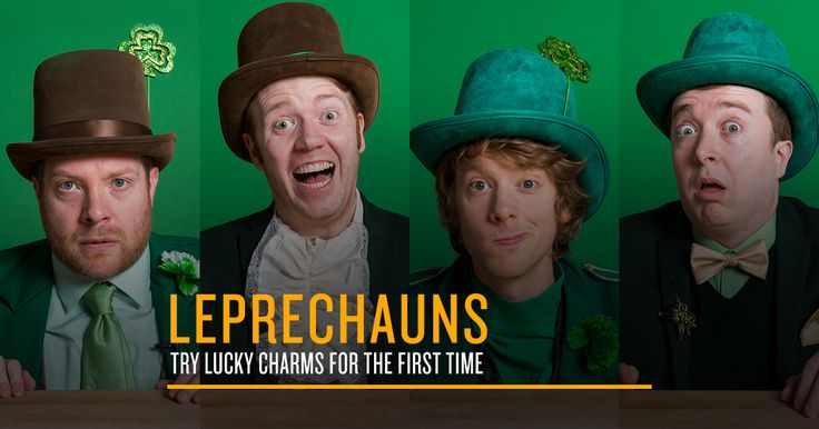 FOD Presents: Leprechauns Try Lucky Charms For The First