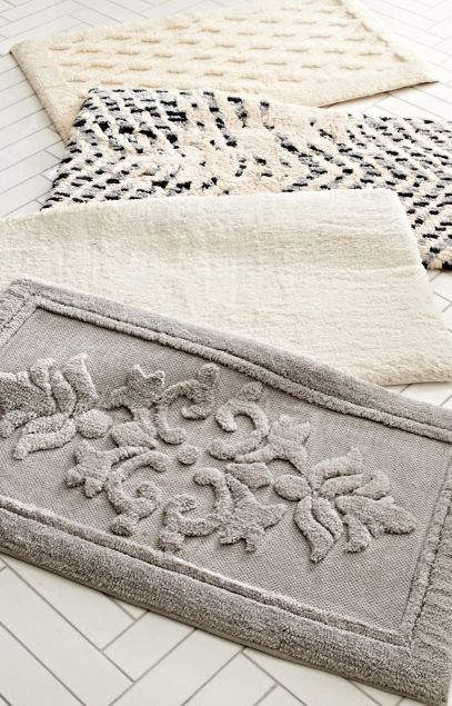 A memorable bath rug. Indulgent memory foam rugs provide supremely soft comfort and anti-fatigue support.