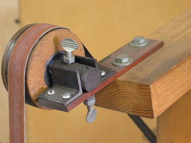 diy wide belt sander. making ww\u0027ing power tools out of wood diy wide belt sander l