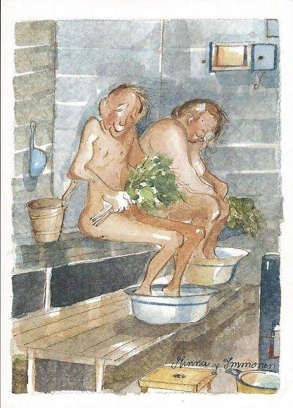 Minna Immonen - Sauna