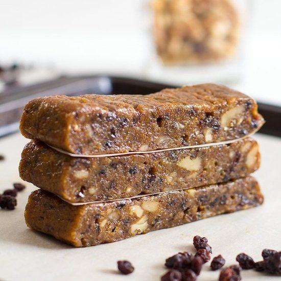 Blueberry Muffin Energy Bars. | Snack Recipes | Pinterest ...