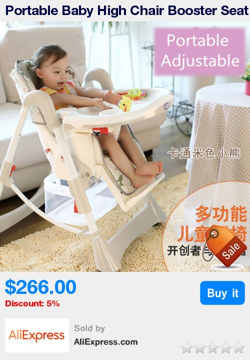 Portable Baby High Chair Booster Seat Kid,Infant Baby Dining Lunch Feeding Chair,Plastic Chair Folding,Seggiolone Portatile Baby * Pub Date: 15:34 Jun 6 2017