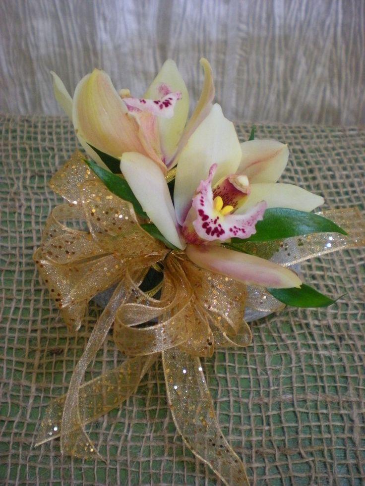 Cymbidium Orchid Wrist Corsages: 17 Best Images About Wrist Corsages On Pinterest