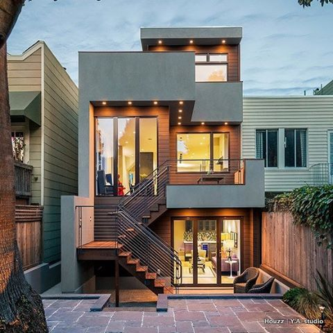 """391 Likes, 7 Comments - Houzz Australia (@houzzau) on Instagram: """"A full remodel of a San Francisco residence by Y.A. Studio approached with sustainability in mind.…"""""""