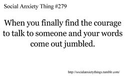Social Anxiety Thing #279
