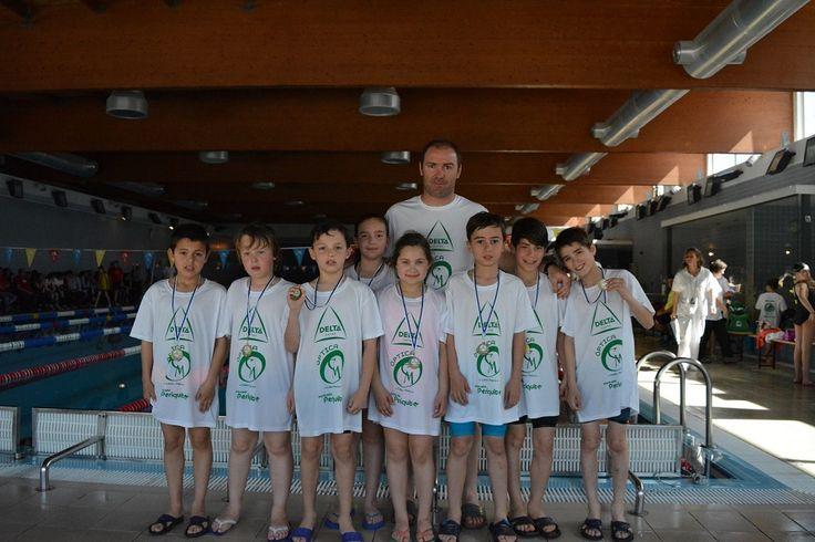 Campomaiornews: Nove lugares no pódio para os nadadores do Sportin...