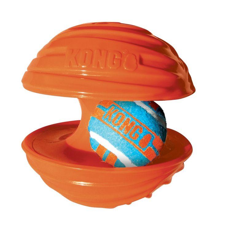 100% Diversão! :) Brinquedo Kong Rambler. #petmeupet #kong #cachorro #brinquedo