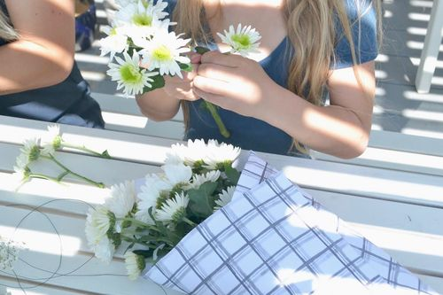Grace in her heart and flowers in her hair, Flower crown blog — Little Inspirations