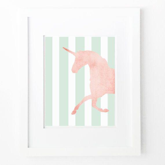 Kinderzimmer wandgestaltung mädchen streifen  Die besten 25+ Mädchen wand dekor Ideen auf Pinterest ...