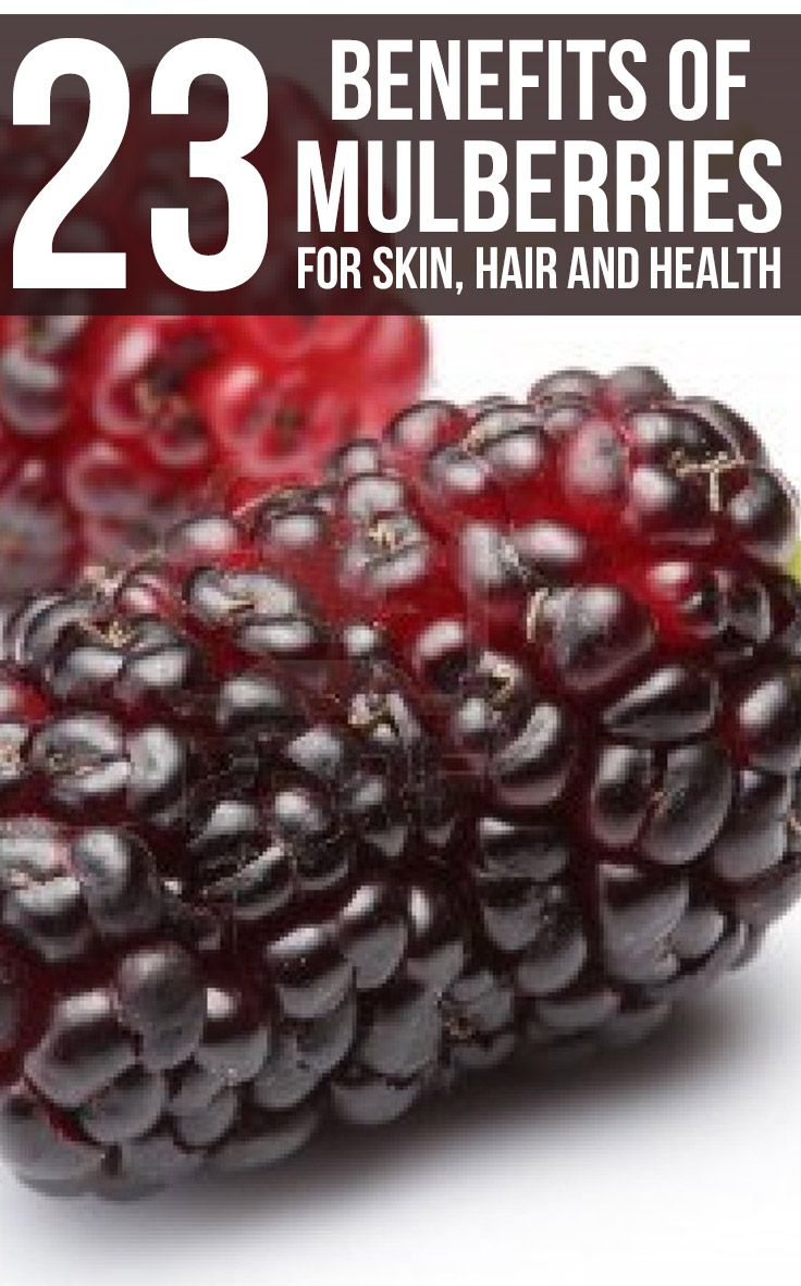23 Amazing Benefits Of Mulberries For Skin, Hair And Health