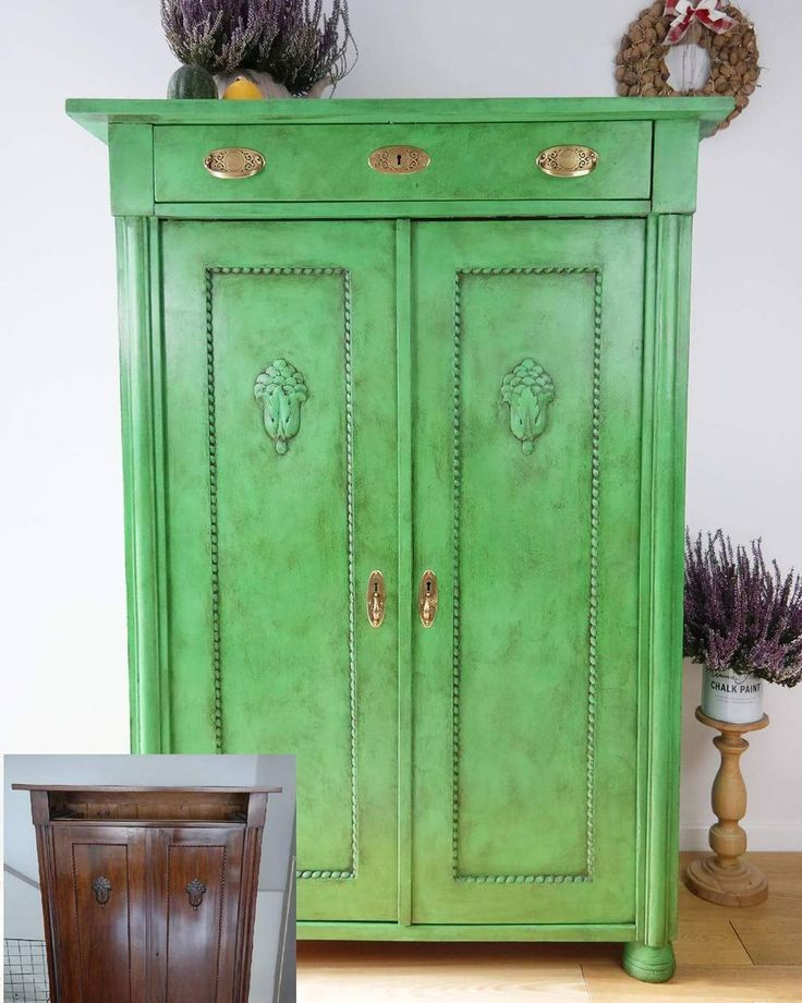 Chalk Paint Kitchen Cabinets Green: Best 25+ Antibes Green Ideas On Pinterest