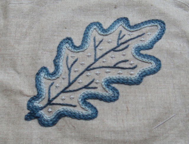 Jacobean Leaves 7