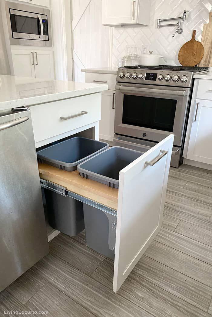 Smart Ways To Organize Cabinet Addition Your Cabinet Inside The Cabinet Gain Access To To Avoid Takin Kitchen Decor Hacks Kitchen Cabinet Design Smart Kitchen