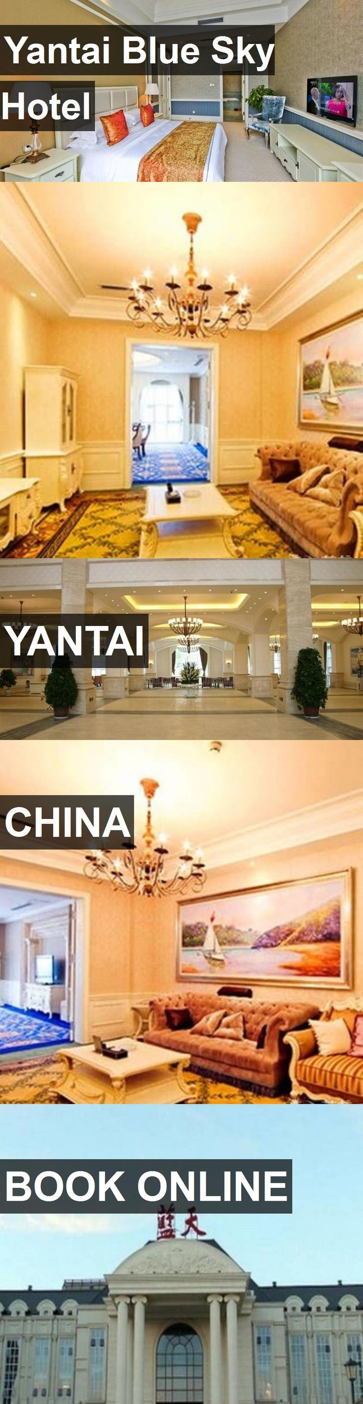Hotel Yantai Blue Sky Hotel in Yantai, China. For more information, photos, reviews and best prices please follow the link. #China #Yantai #YantaiBlueSkyHotel #hotel #travel #vacation