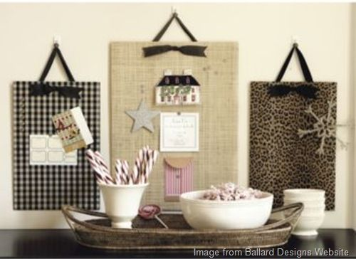 Quick and easy bulletin boards.