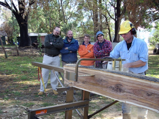 Milling Timber with Logosol Mill (Donation from Swedex)