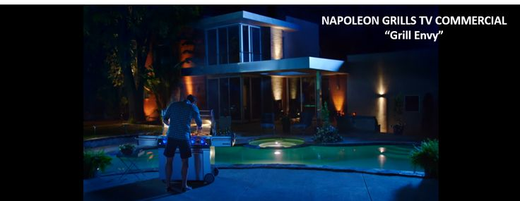 """Napoleon Grills has a new TV commercial out.  Good reminder that if you're going to get a Napoleon Grill, you need a great swimming pool to go with it.  Check out their commercial here: https://youtu.be/nqfGcQg8Q6M.  And then check out LeisurePoolsUSA.com when you're ready for your """"life of leisure"""" fiberglass swimming pool. #LeisurePools #lifeofleisure #poollove #fiberglass #swimmingpool"""