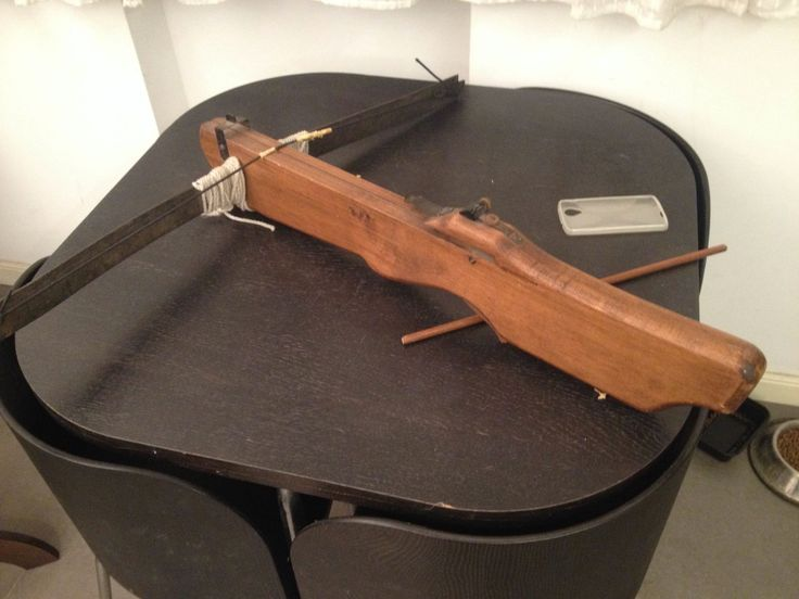 Homemade Meval Crossbow Designs on