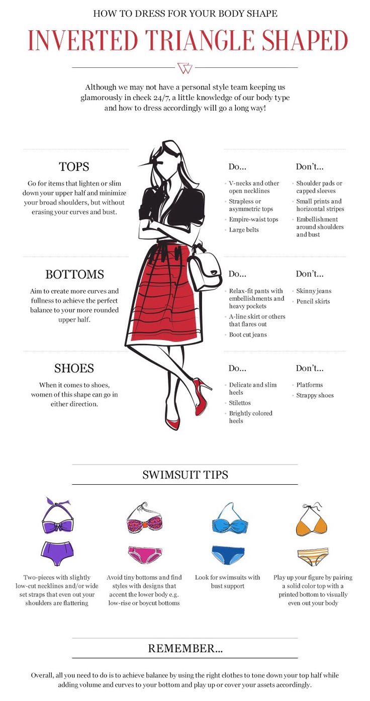 Inverted Triangle Shape How To Wear #body #swimsuit