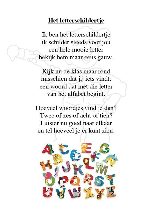 Hete letterschildertje
