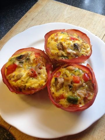 Vicki-Kitchen: Breakfast egg muffins (slimming world friendly)