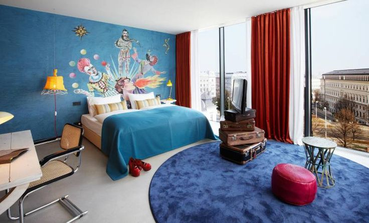25hours Hotel Wien beim Museumsquartier Panorama Suite