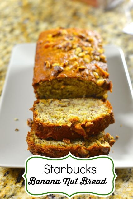 Save Money by making your own home made Starbucks Banana Nut Bread #copycat