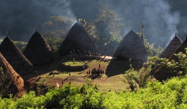 Mbaru Niang, Tradional house in Wae Rebo - East Nusa Tenggara