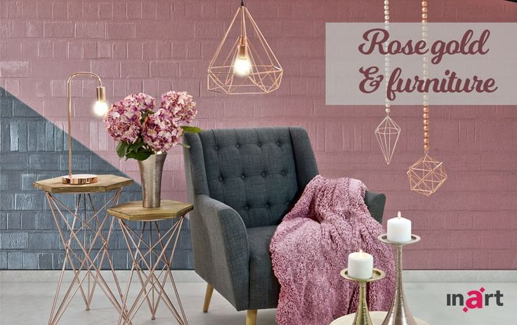 Rose gold and furniture: It's a love affair!