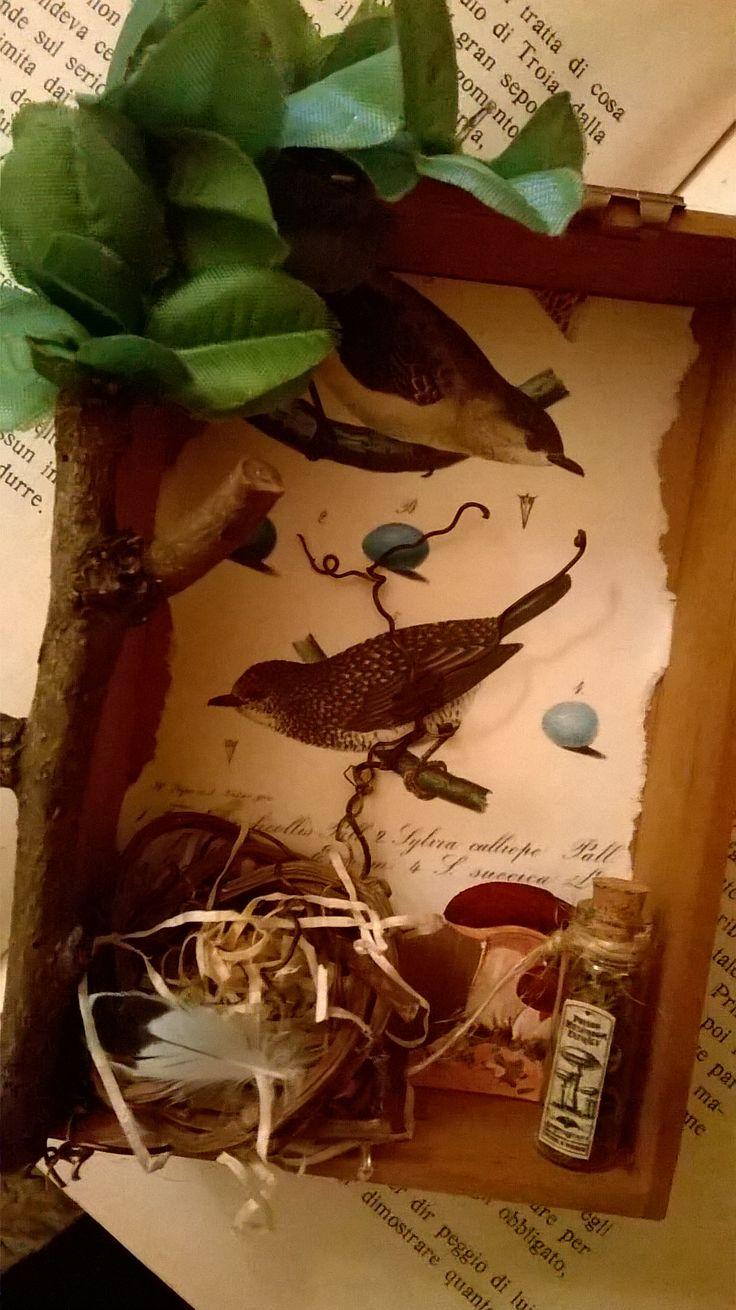diorama bird