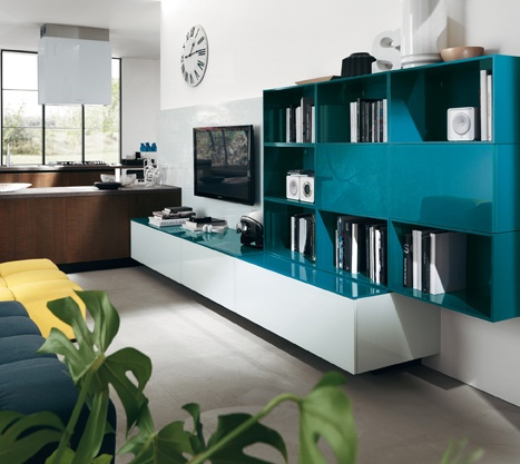 LiberaMente | Scavolini | Interior Design | Living Rooms