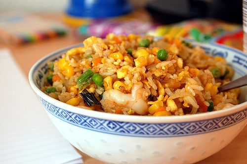 Thai Yellow Curry Fried Rice